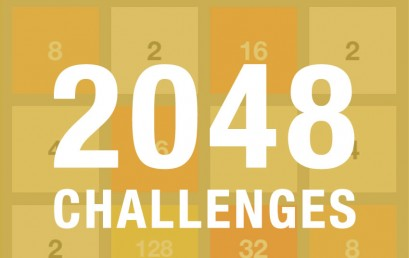 2048 updated with Challenge mode