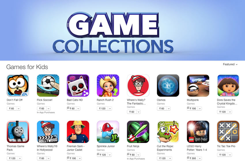 BadCats featured by Apple in France