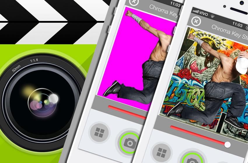 Chroma Key Studio released for iOS