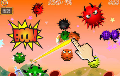 Monster Rush is available at App Store
