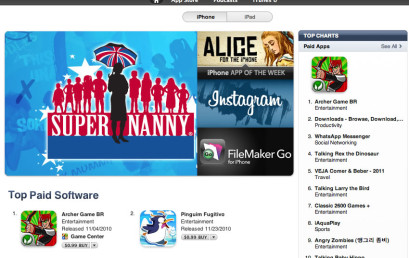 Archer is Rank #1 at Brazil AppStore