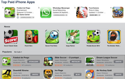 Goaal is Rank #1 Game at AppStore