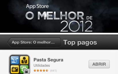 AppStore Best of 2012: Secure Folder